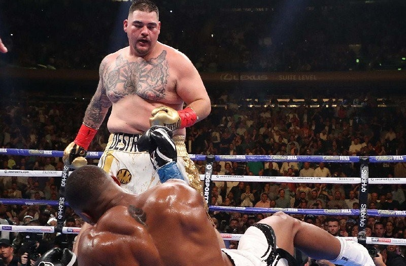 Ruiz provided arguably the biggest upset in heavyweight boxing history one year ago today