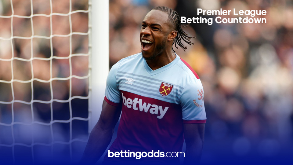 West Ham Premier League odds: Antonio will be looking to improve on last season's goal tally