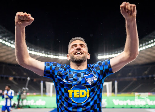 Vedad Ibisevic has been in electric form since the Bundesliga's return