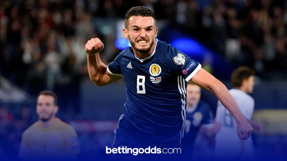John McGinn has been superb for Villa this season and his Scotland side feature in our 14/1 accumulator