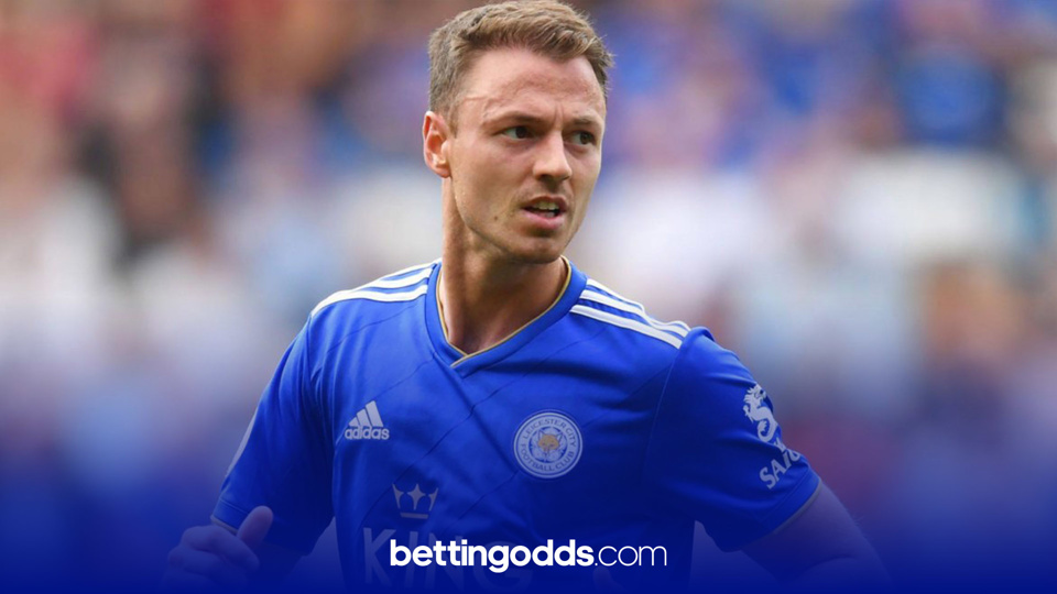 Leicester's Jonny Evans has been booked four times in five league games this season and features in our 18/5 selection for the game