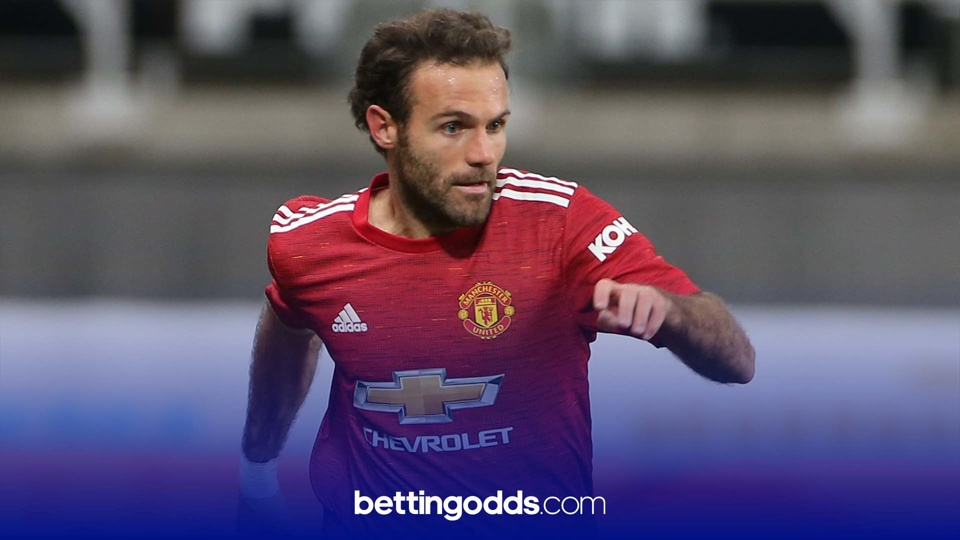 Juan Mata could potentially be on penalty and free-kick for Manchester United against Watford and features in our 13/10 selection for the game