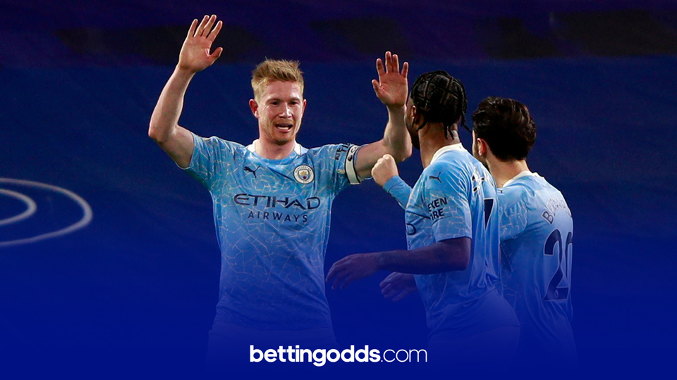 Manchester City have won their last five games at the Emirates by two goals or more and we fancy this run to continue as part of our football tips on Sunday
