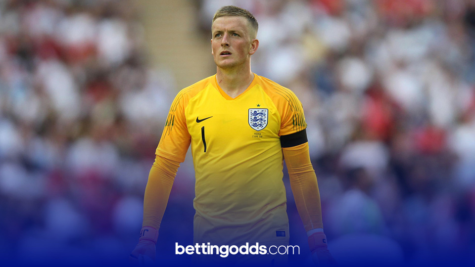 Euro 2021 Betting: Jordan Pickford is the most likely player to start v Croatia according to the odds