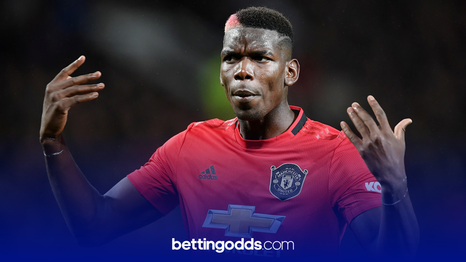 Pogba has registered a shot on target in his last three games and we're backing him to do so again against Crystal Palace