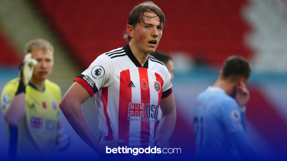 Sheffield United's Sander Berge has been booked four times in the league this season and features in our Premier League card plays