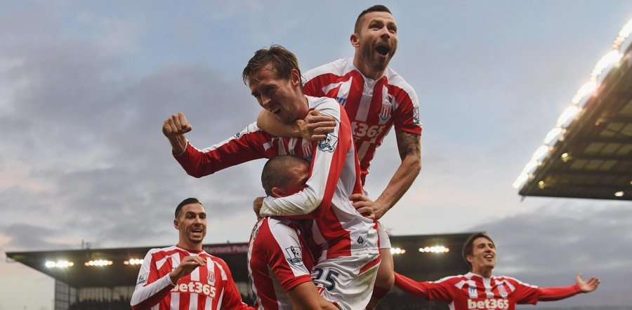 Stoke stunned the world by thrashing Liverpool 6-1 on the final day of the 2014-15 campaign.