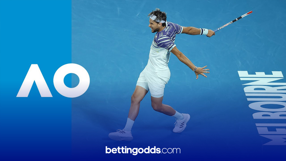 Australian Open Betting Tips: Thiem is a good price for this year's Grand Slam