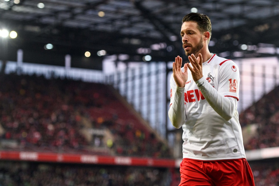 In form Mark Uth can get on the scoresheet for Koln on Sunday in the Bundesliga.
