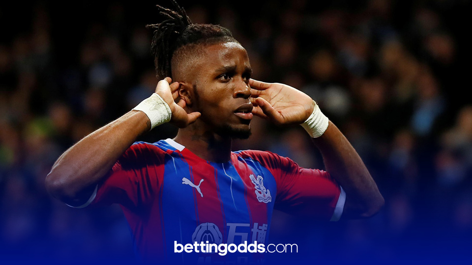 Wilfried Zaha is front and centre of our three bets for this evening's match between Wolves & Crystal Palace