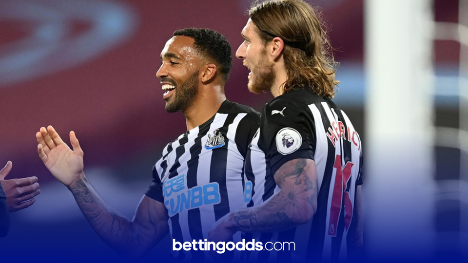 Betting Stories: Wilson linked up with Joelinton to land Sky Bet's under-priced 'Return the Favour' on Friday night